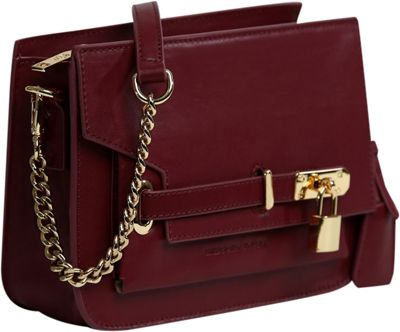 Gregory Sylvia Agnes Crossbody Oxblood - Gregory Sylvia Leather Handbags