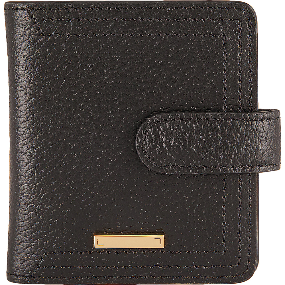 Lodis Stephanie Under Lock & Key Petite Card Case Wallet Black - Lodis Womens Wallets - Women's SLG, Women's Wallets