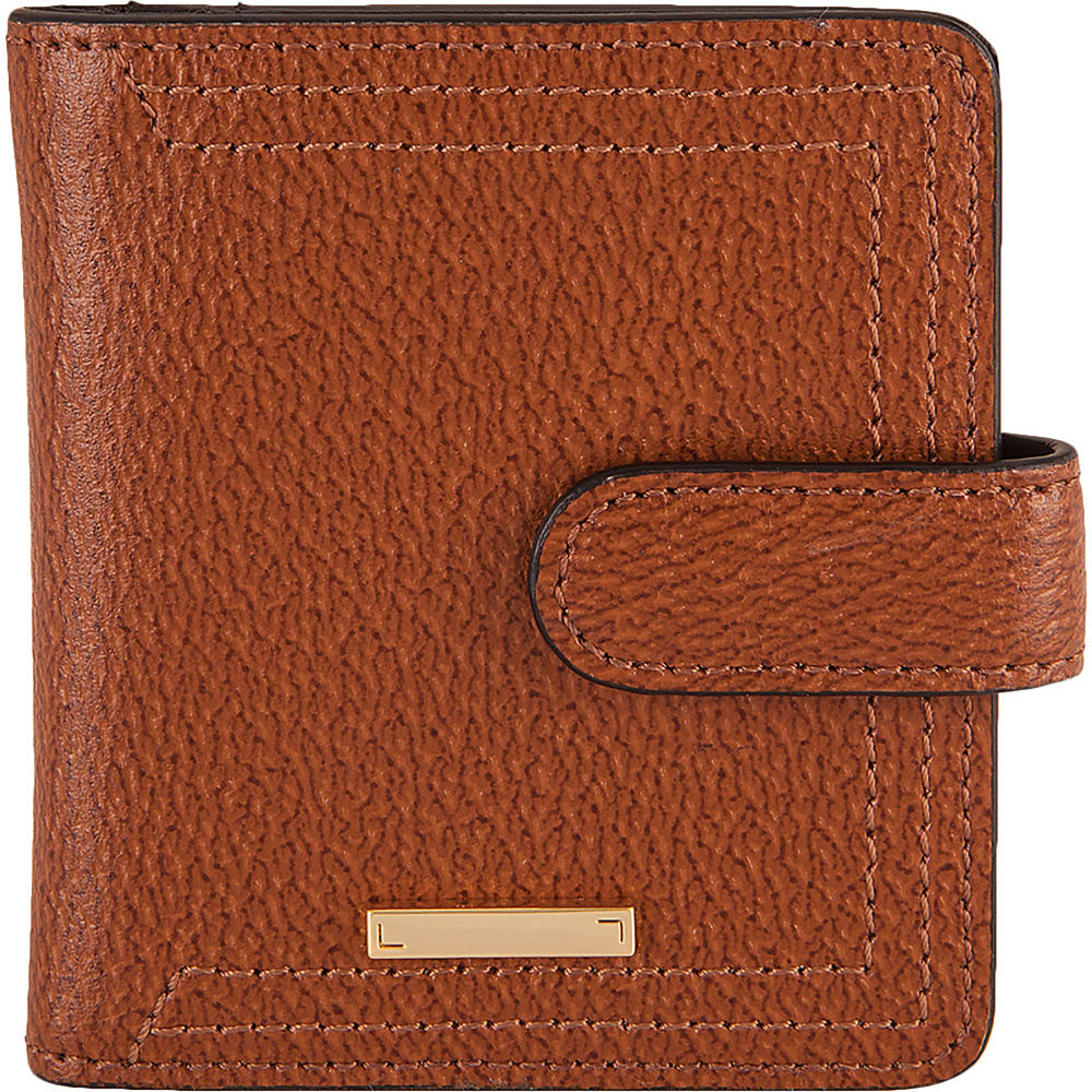 Lodis Stephanie Under Lock & Key Petite Card Case Wallet Chestnut - Lodis Womens Wallets - Women's SLG, Women's Wallets