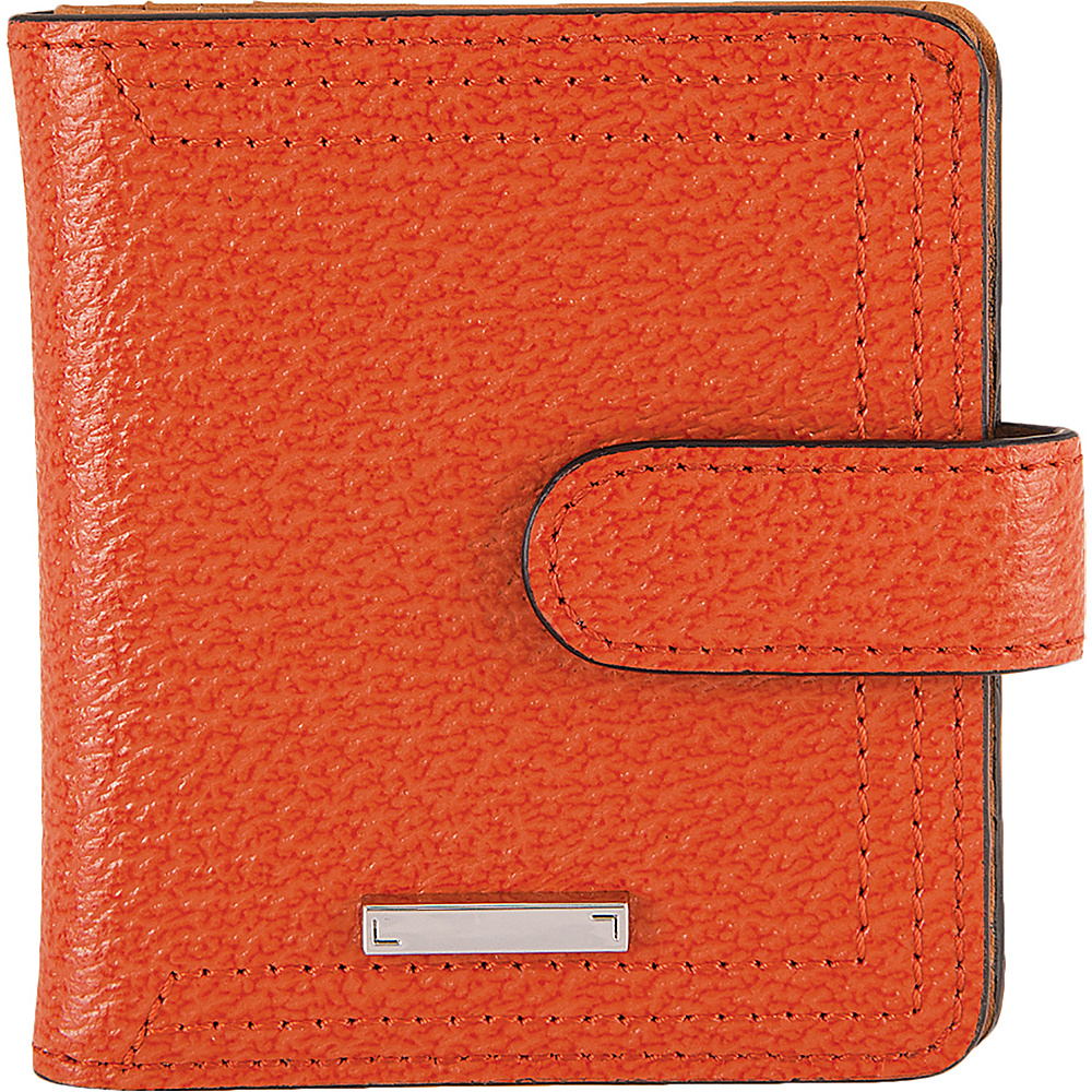 Lodis Stephanie Under Lock & Key Petite Card Case Wallet Orange - Lodis Womens Wallets - Women's SLG, Women's Wallets
