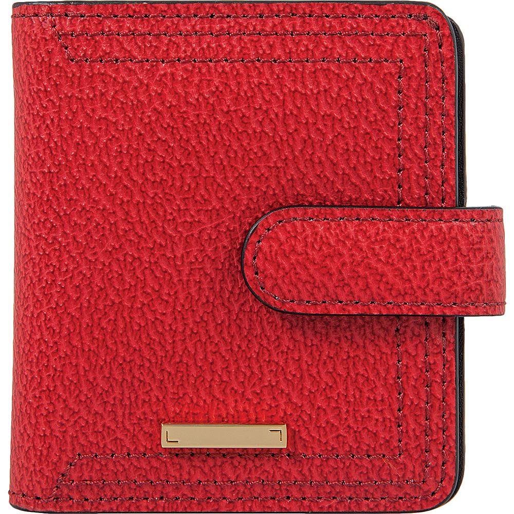 Lodis Stephanie Under Lock & Key Petite Card Case Wallet Red - Lodis Womens Wallets - Women's SLG, Women's Wallets