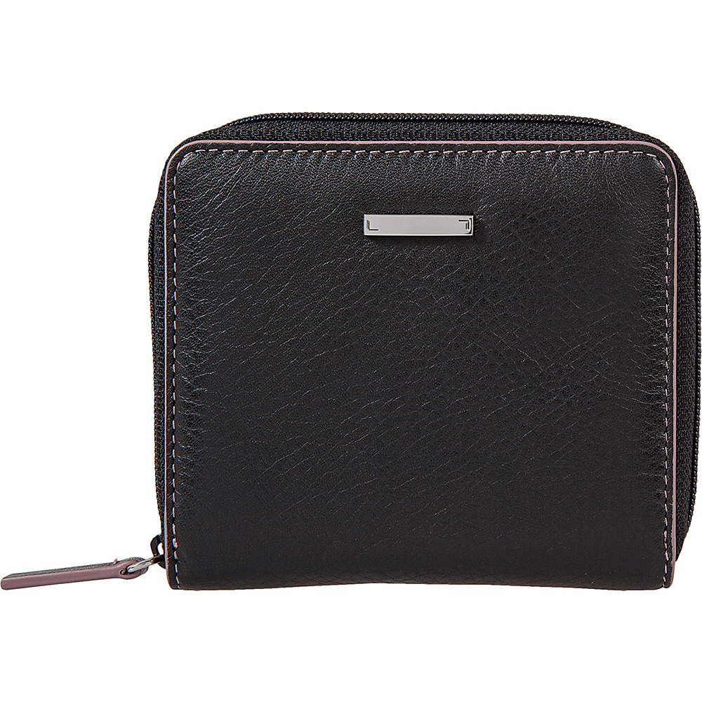 Lodis Mill Valley Under Lock & Key Amaya Zip French Wallet Black - Lodis Womens Wallets - Women's SLG, Women's Wallets