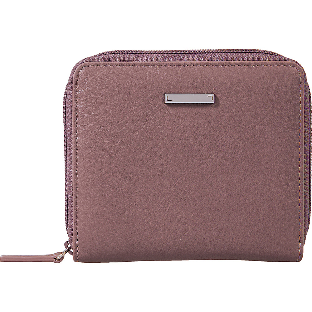 Lodis Mill Valley Under Lock & Key Amaya Zip French Wallet Lilac - Lodis Womens Wallets - Women's SLG, Women's Wallets