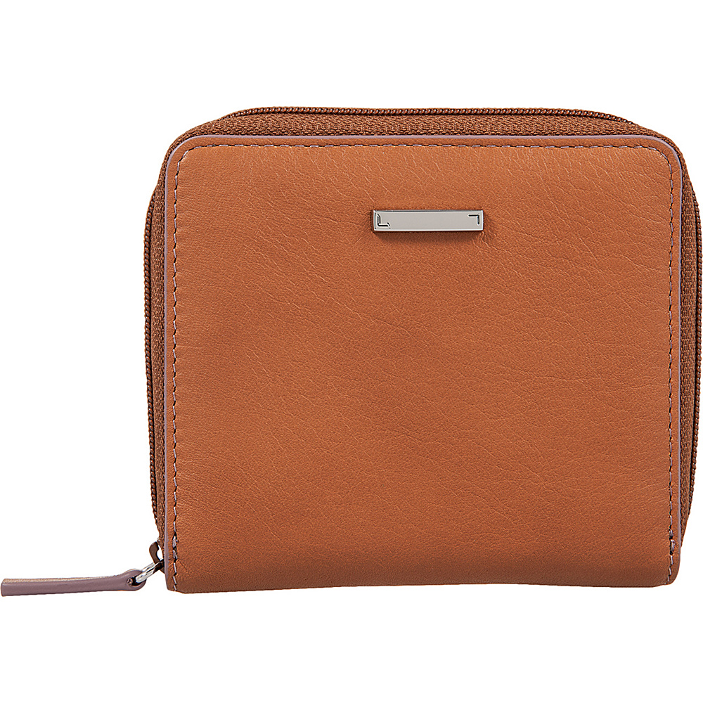 Lodis Mill Valley Under Lock & Key Amaya Zip French Wallet Toffee - Lodis Womens Wallets - Women's SLG, Women's Wallets