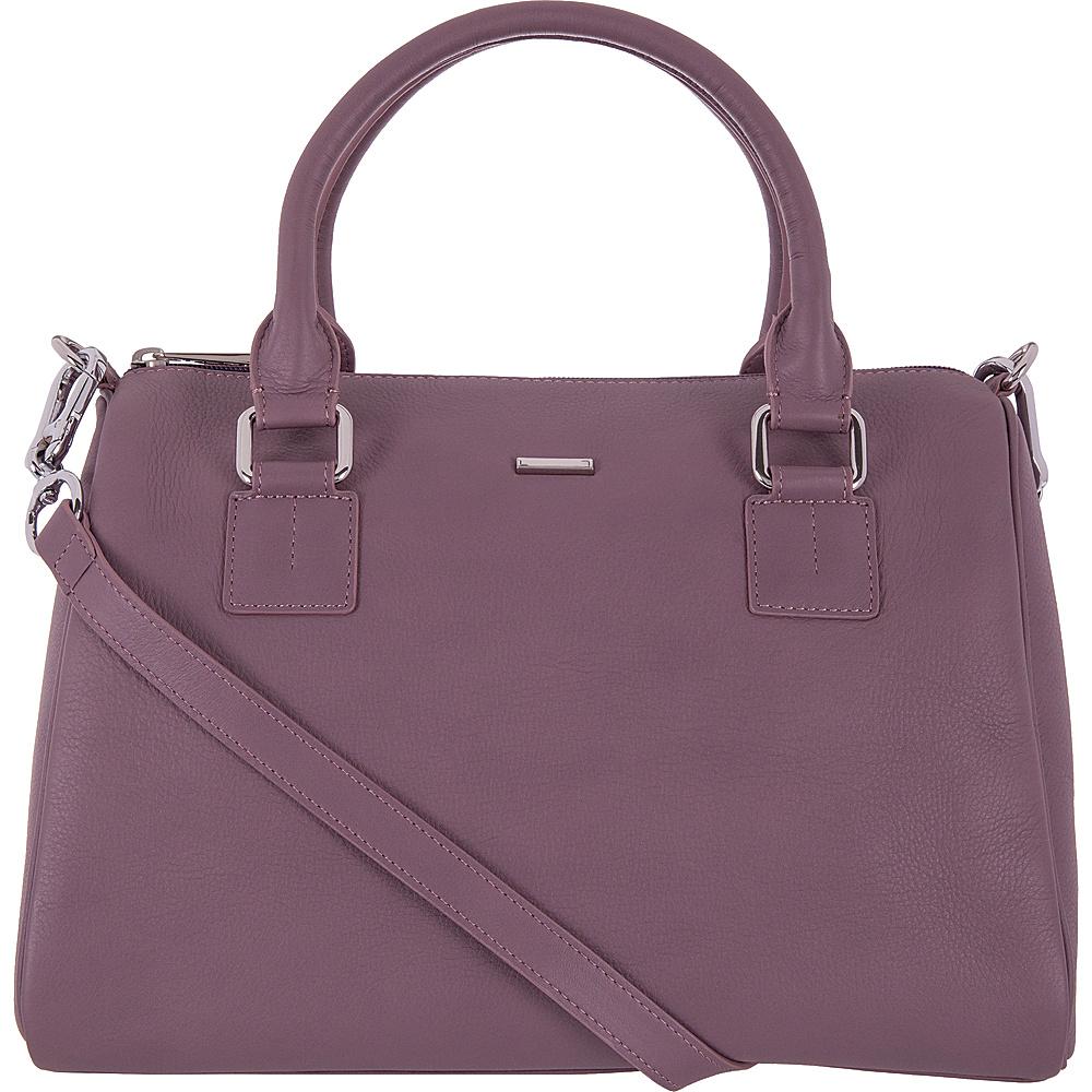 Lodis Mill Valley Under Lock & Key Valda Satchel Lilac - Lodis Leather Handbags - Handbags, Leather Handbags