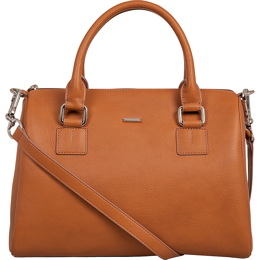 Lodis Mill Valley Under Lock & Key Valda Satchel Toffee - Lodis Leather Handbags - Handbags, Leather Handbags
