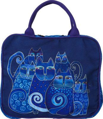 Laurel Burch Indigo Cats Cosmetic Travel Tote Indigo Cats - Laurel Burch Women's SLG Other