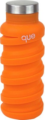 que Bottle que Bottle Collapsible Silicone Water Bottle  12 oz Sunbeam Orange - que Bottle Hydration Packs and Bottles