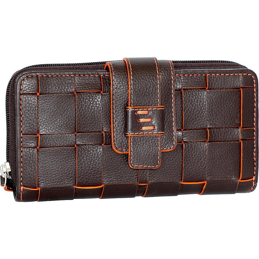 Nino Bossi Wendi Wallet Chocolate - Nino Bossi Designer Handbags - Handbags, Designer Handbags