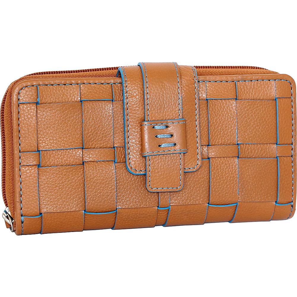 Nino Bossi Wendi Wallet Cognac - Nino Bossi Designer Handbags - Handbags, Designer Handbags