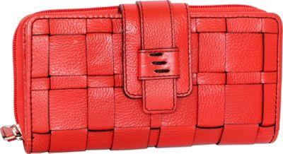 Nino Bossi Wendi Wallet Red - Nino Bossi Designer Handbags