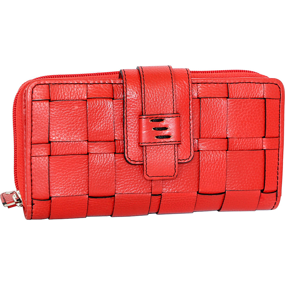Nino Bossi Wendi Wallet Red - Nino Bossi Womens Wallets - Women's SLG, Women's Wallets