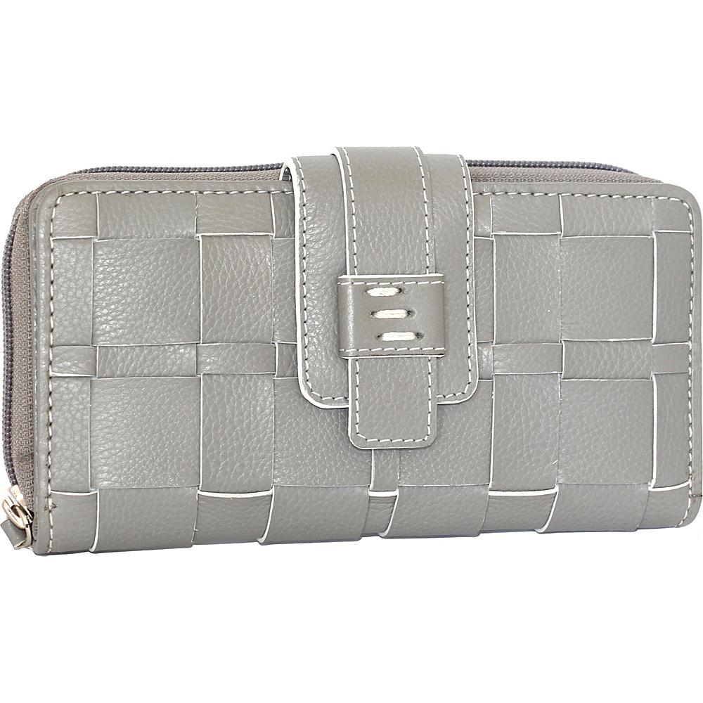 Nino Bossi Wendi Wallet Stone - Nino Bossi Designer Handbags - Handbags, Designer Handbags