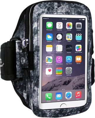 Armpocket ULTRA i-35 Adjustable Armband for Devices up to 6 inch - Small Strap Length Arctic Storm - Armpocket Electronic Cases
