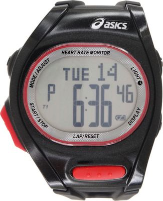 Asics Heart Rate Monitor Watch Black - Asics Wearable Technology