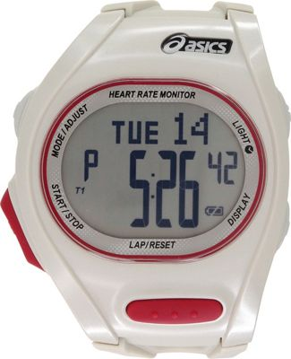 Asics Heart Rate Monitor Watch White - Asics Wearable Technology