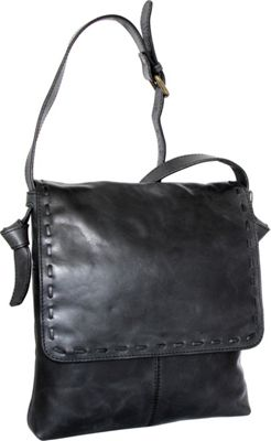 Nino Bossi Christie Crossbody Bag Black - Nino Bossi Leather Handbags