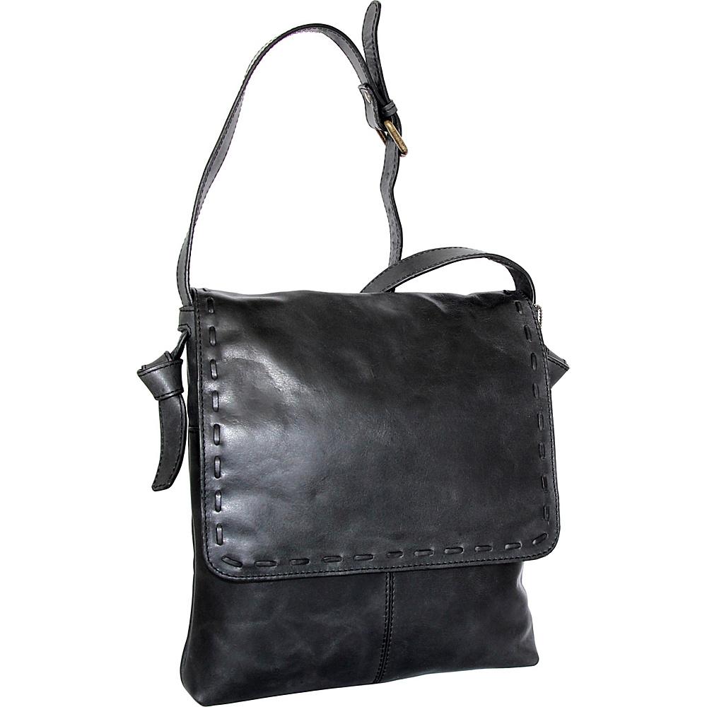 Nino Bossi Christie Crossbody Bag Black - Nino Bossi Leather Handbags - Handbags, Leather Handbags