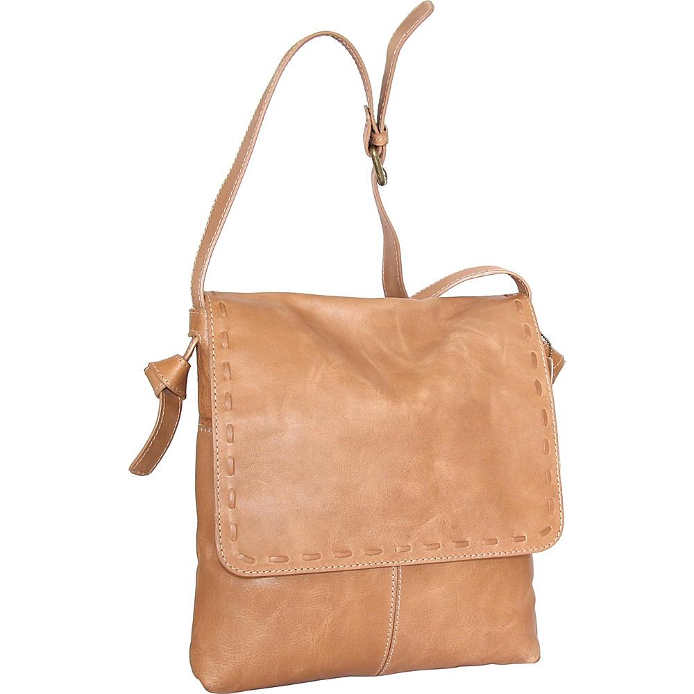 Nino Bossi Christie Crossbody Bag Nut - Nino Bossi Leather Handbags - Handbags, Leather Handbags