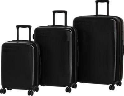 it luggage Autograph Hardside 8 Wheel 3 Piece Luggage Set Black with Grey - it luggage Luggage Sets