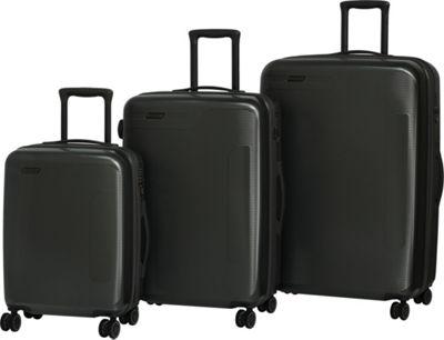 it luggage Autograph Hardside 8 Wheel 3 Piece Luggage Set Dark Grey - it luggage Luggage Sets
