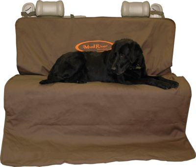 Mud River Two Barrel Double Seat Cover - Standard Brown - Mud River Trunk and Transport Organization