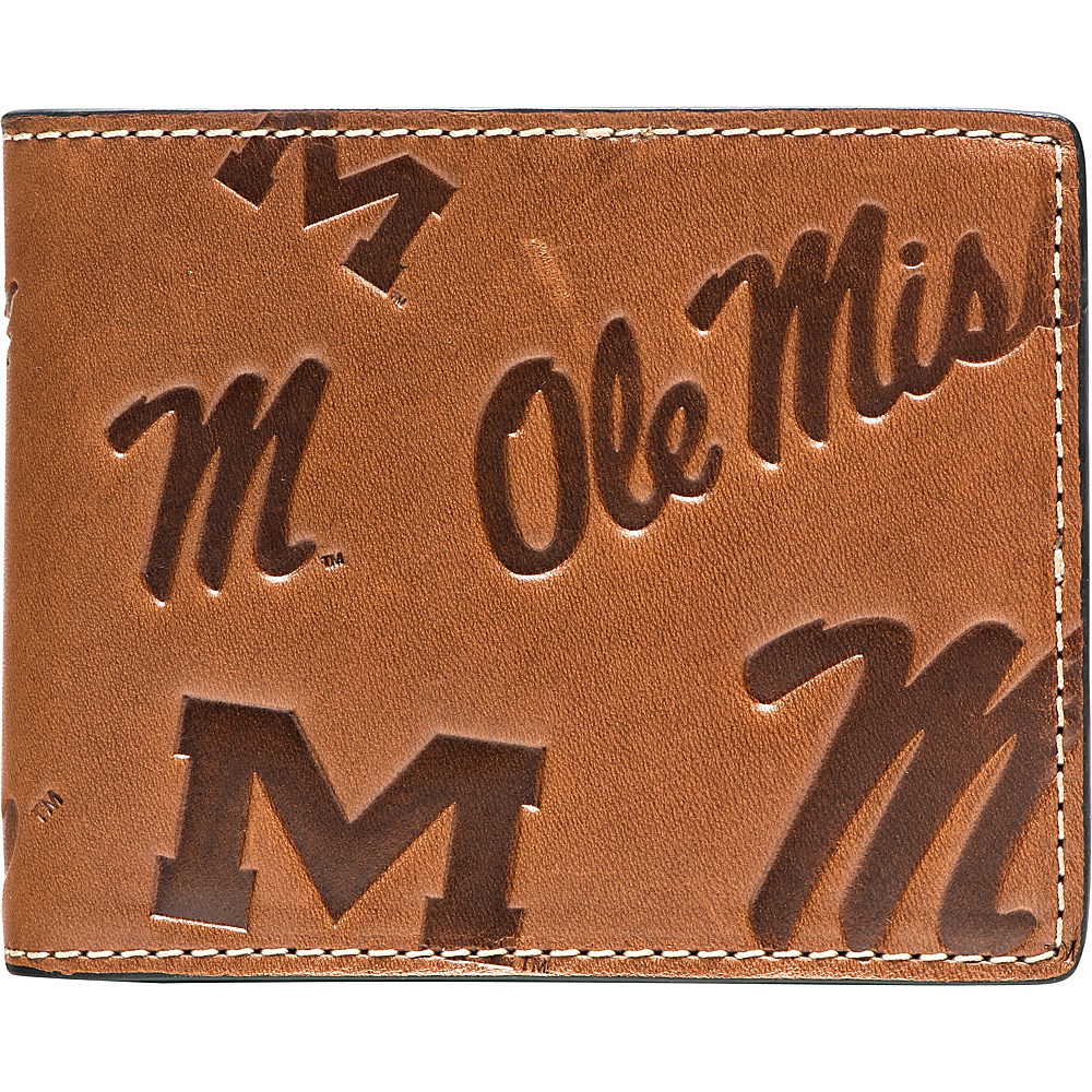 Jack Mason League NCAA Sideline Traveler Wallet Mississippi Rebels - Jack Mason League Mens Wallets - Work Bags & Briefcases, Men's Wallets