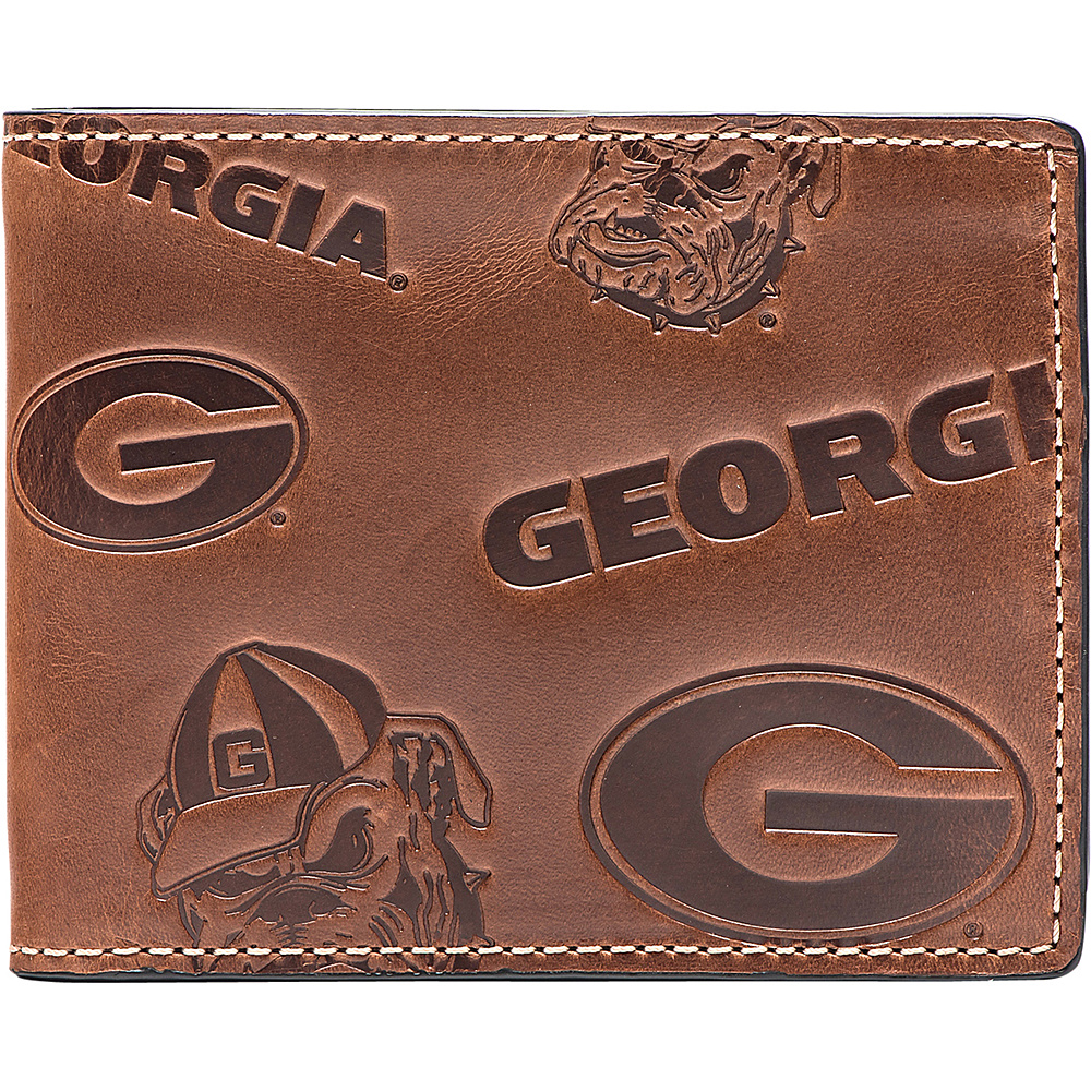 Jack Mason League NCAA Sideline Traveler Wallet Georgia - Jack Mason League Mens Wallets - Work Bags & Briefcases, Men's Wallets