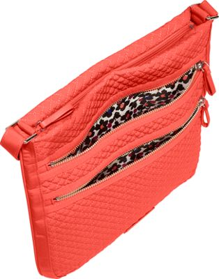 Vera Bradley Iconic Triple Zip Hipster - Solids Charcoal - Vera Bradley Fabric Handbags