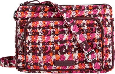 Vera Bradley Iconic RFID Little Hipster Houndstooth Tweed - Vera Bradley Fabric Handbags