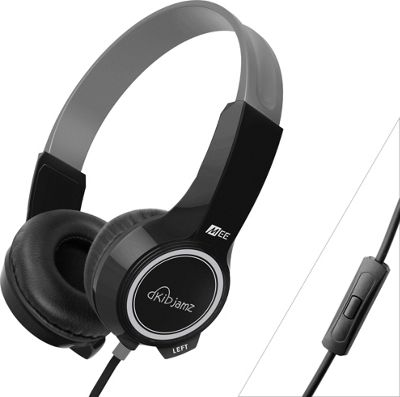 MEE Audio KidJamz Plus Safe Listening Headphones for Kids Black - MEE Audio Headphones & Speakers
