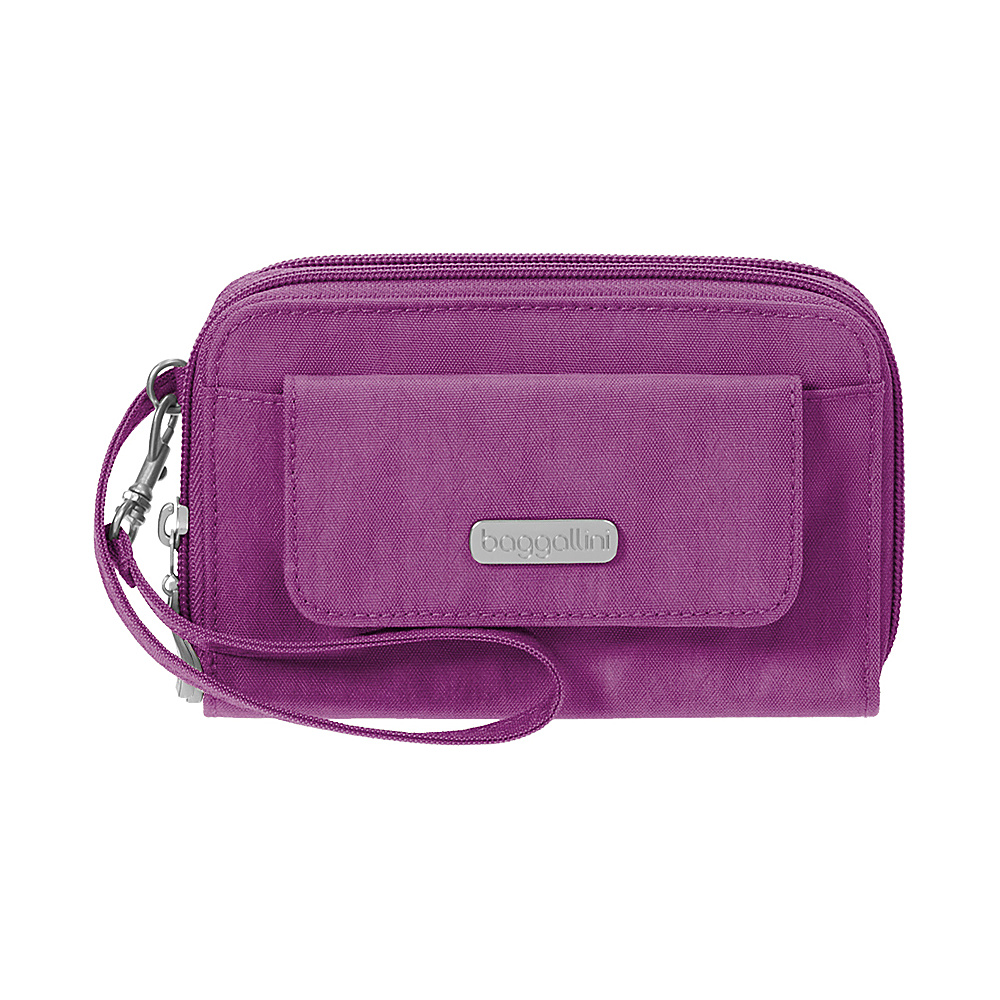 baggallini RFID Wallet Wristlet - Retired Colors Magenta - baggallini Womens Wallets - Women's SLG, Women's Wallets