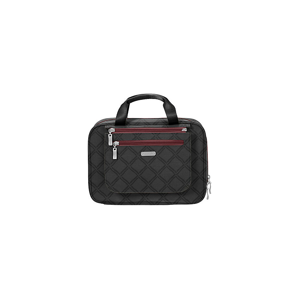 baggallini Deluxe Travel Cosmetic - Retired Colors Charcoal Link - baggallini Travel Health & Beauty - Travel Accessories, Travel Health & Beauty
