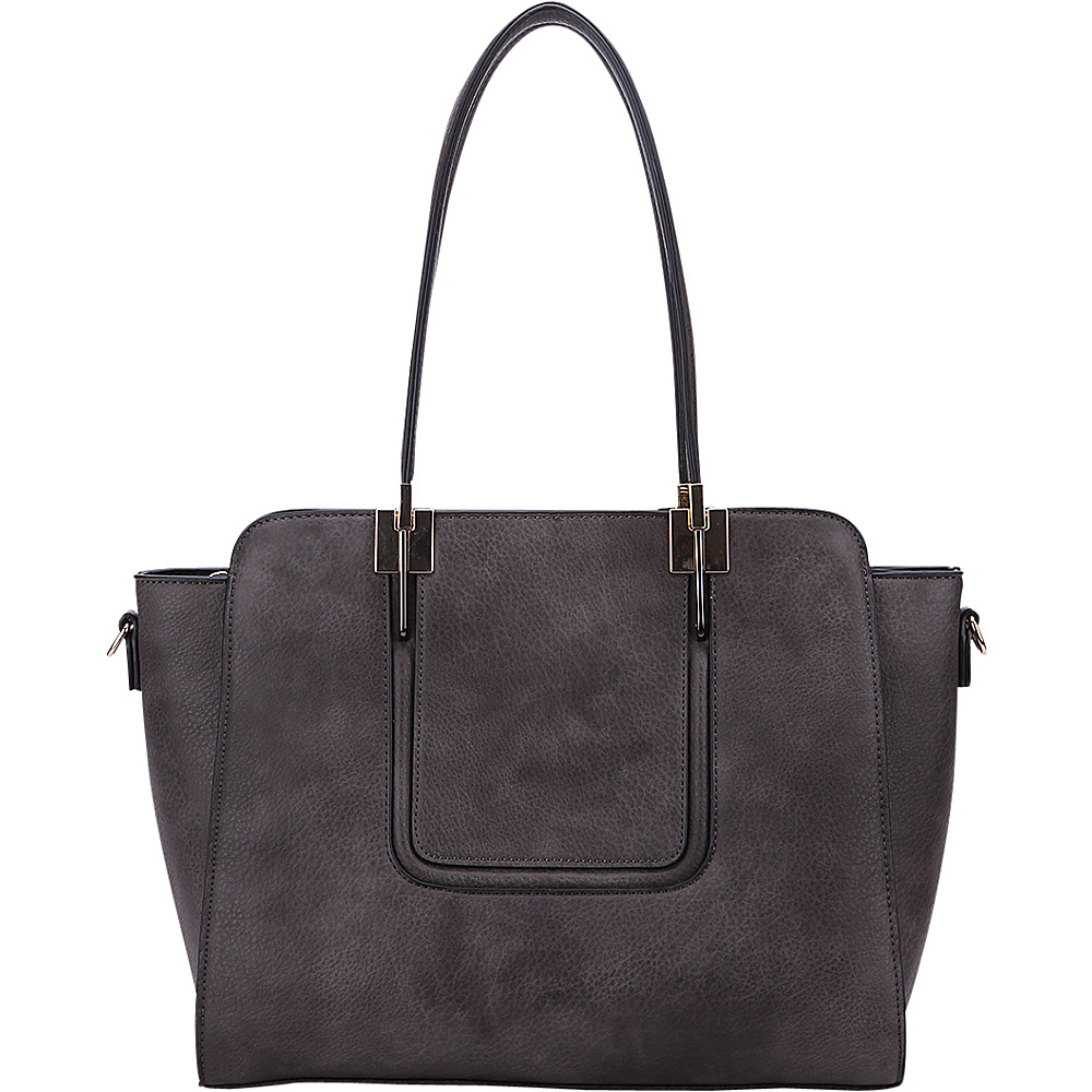 MKF Collection by Mia K. Farrow Susan Shoulder Bag Dark Grey - MKF Collection by Mia K. Farrow Gym Bags - Sports, Gym Bags