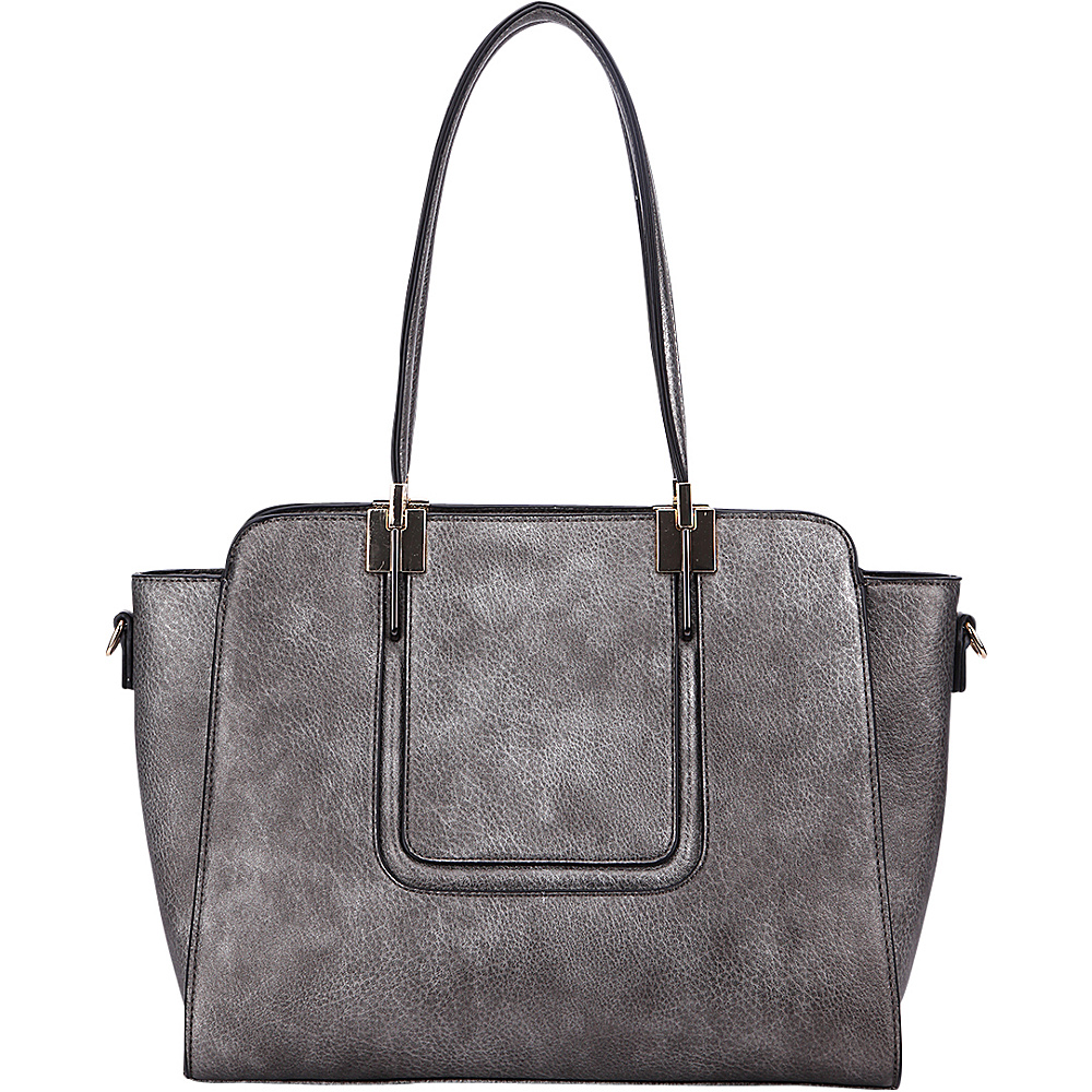 MKF Collection by Mia K. Farrow Susan Shoulder Bag Pewter - MKF Collection by Mia K. Farrow Gym Bags - Sports, Gym Bags