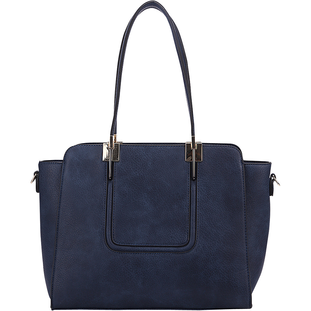 MKF Collection by Mia K. Farrow Susan Shoulder Bag Navy - MKF Collection by Mia K. Farrow Gym Bags - Sports, Gym Bags