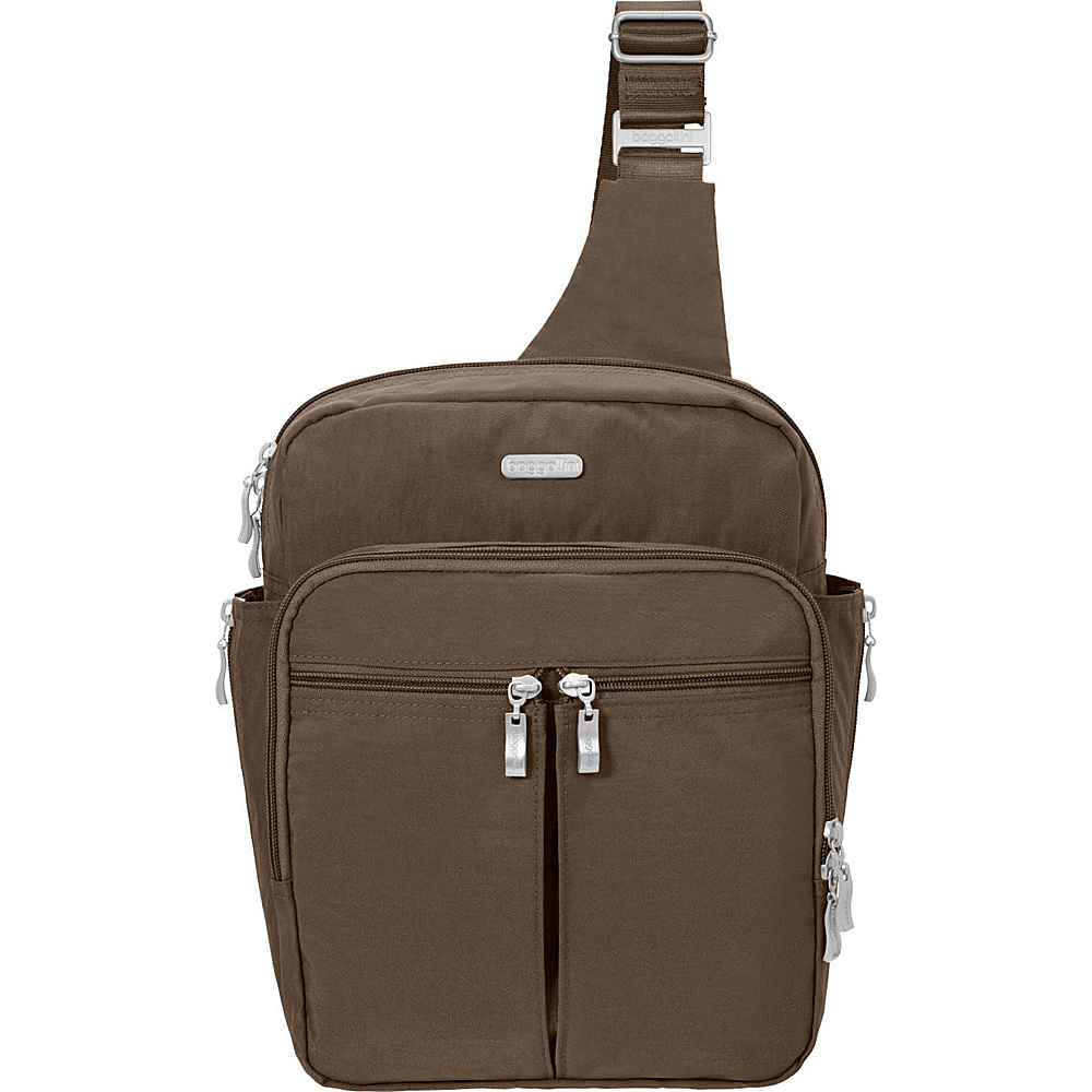 baggallini Messenger Bagg with RFID Portobello - baggallini Fabric Handbags - Handbags, Fabric Handbags