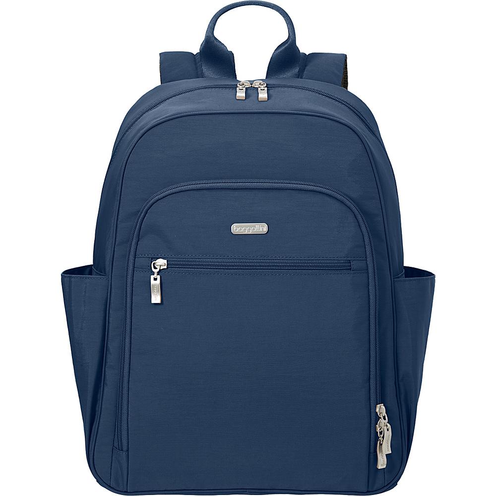 baggallini Essential Laptop Backpack with RFID Pacific - baggallini Laptop Backpacks - Backpacks, Laptop Backpacks
