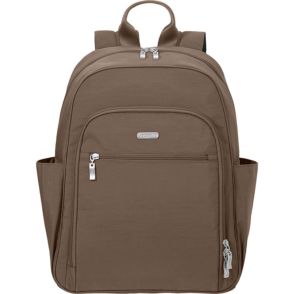 baggallini Essential Laptop Backpack with RFID Portobello - baggallini Laptop Backpacks - Backpacks, Laptop Backpacks