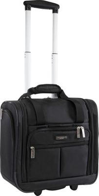 Pacific Coast Underseat 15.5 inch Rolling Tote Carry-On Black - Pacific Coast Softside Carry-On
