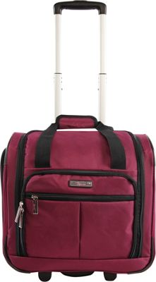 Pacific Coast Underseat 15.5 inch Rolling Tote Carry-On Red - Pacific Coast Softside Carry-On