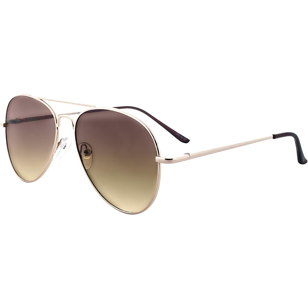 SW Global Ultra Light Weight Sport Aviator UV400 Sunglasses Brown - SW Global Eyewear - Fashion Accessories, Eyewear