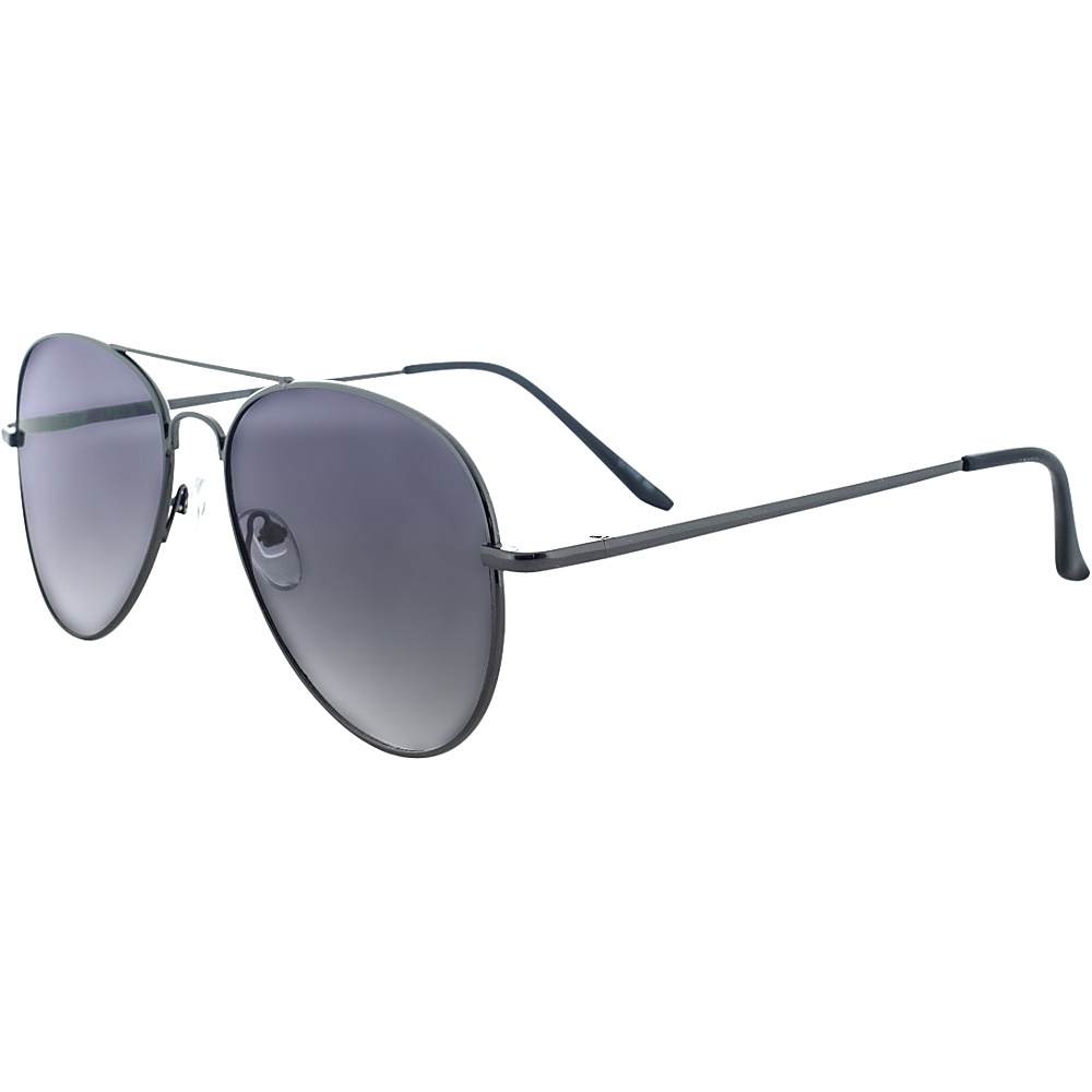 SW Global Ultra Light Weight Sport Aviator UV400 Sunglasses Gunmetal - SW Global Eyewear - Fashion Accessories, Eyewear