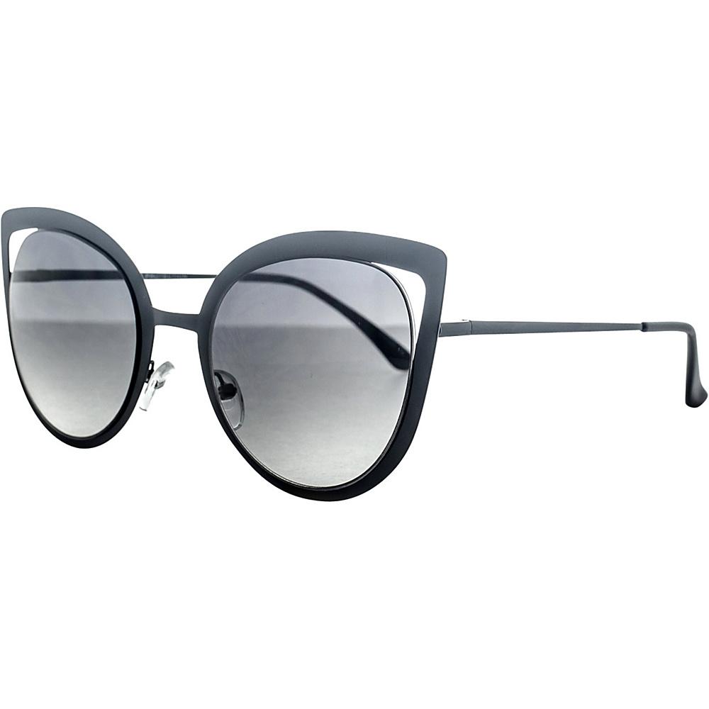 SW Global Wild Safari Retro Square Frame UV400 Sunglasses Black - SW Global Eyewear - Fashion Accessories, Eyewear