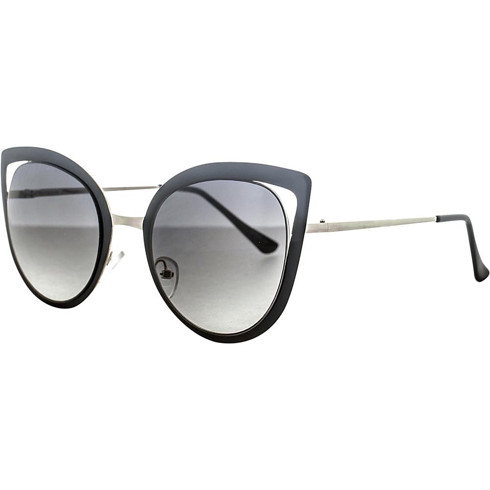 SW Global Wild Safari Retro Square Frame UV400 Sunglasses Black Gold - SW Global Eyewear - Fashion Accessories, Eyewear