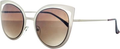 SW Global Wild Safari Retro Square Frame UV400 Sunglasses Gold - SW Global Eyewear 10587156