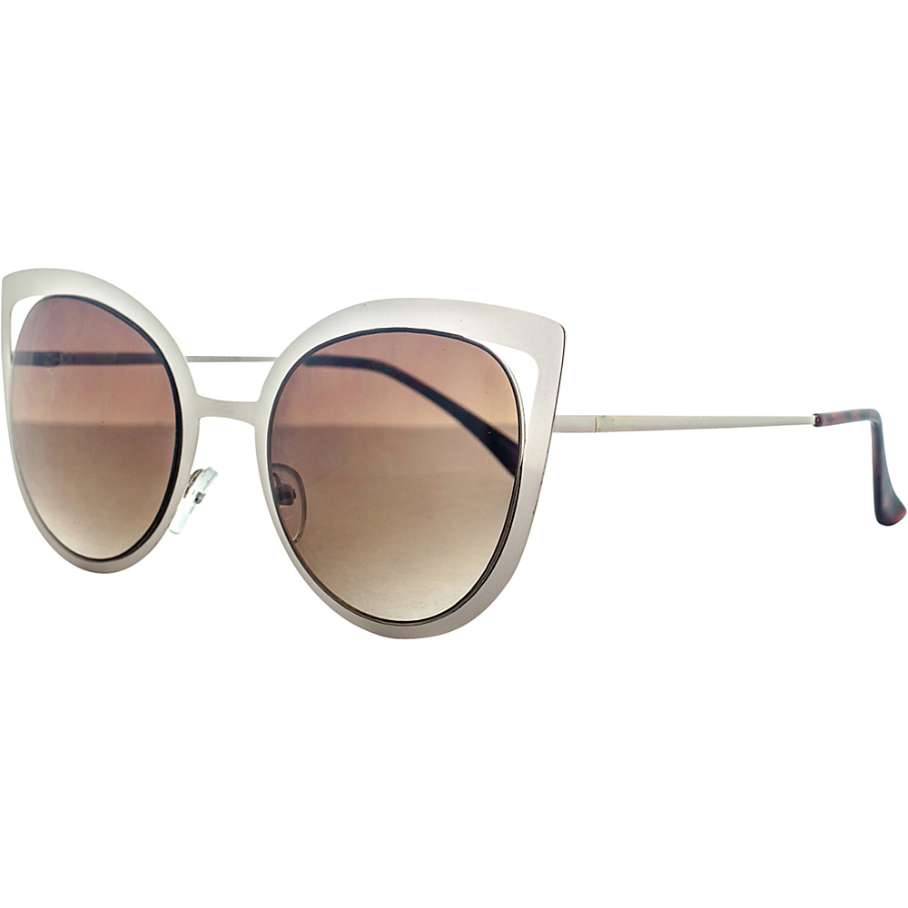 SW Global Wild Safari Retro Square Frame UV400 Sunglasses Gold - SW Global Eyewear - Fashion Accessories, Eyewear