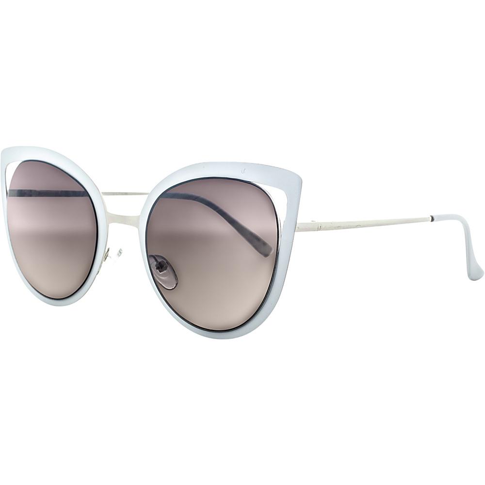 SW Global Wild Safari Retro Square Frame UV400 Sunglasses White Gold - SW Global Eyewear - Fashion Accessories, Eyewear