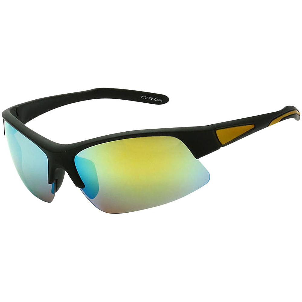 SW Global Cycling Sport Sunglasses Yellow - SW Global Eyewear - Fashion Accessories, Eyewear