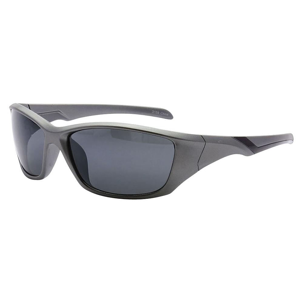 SW Global Outdoors Sports Full Square Framed UV400 Sunglasses Grey Black - SW Global Eyewear - Fashion Accessories, Eyewear